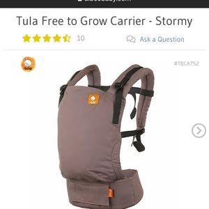 Baby Tula free to grow